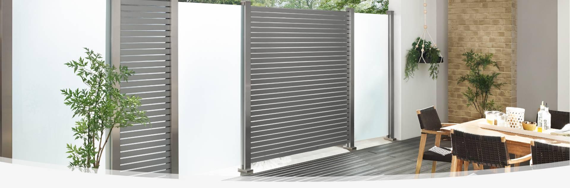 sichtschutz z une holzland gattermann. Black Bedroom Furniture Sets. Home Design Ideas